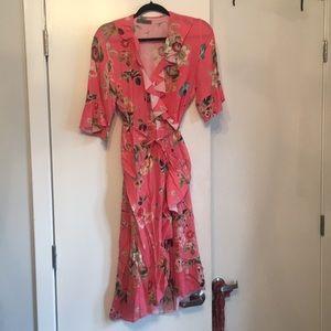Lola wrap dress - made in Italy